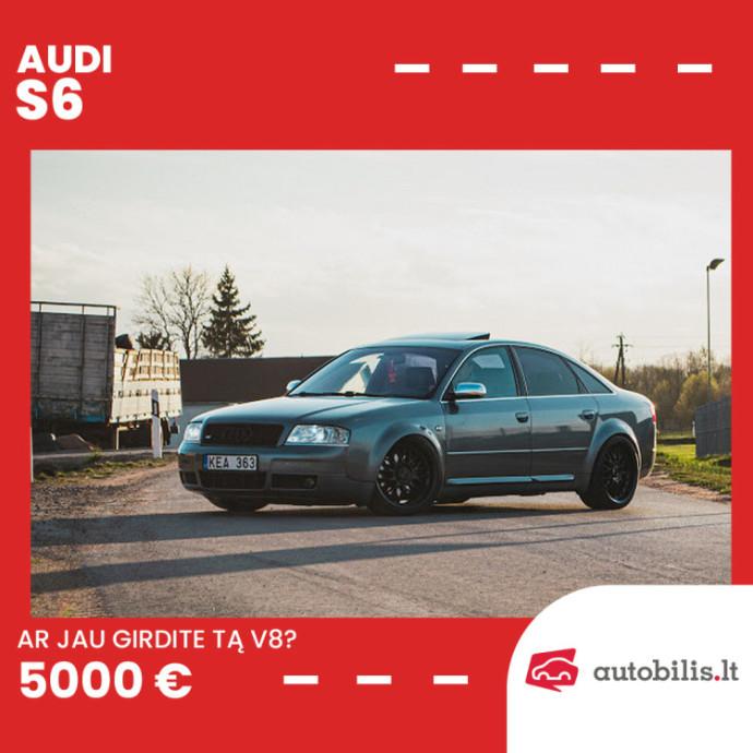 Audi S6 sedanas