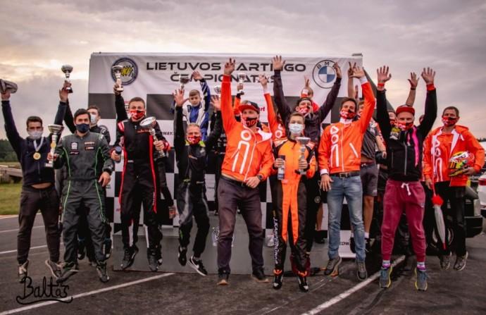 """""""Baltic Karting Academy"""" – tiltas tarp kartingo ir automobilio"""