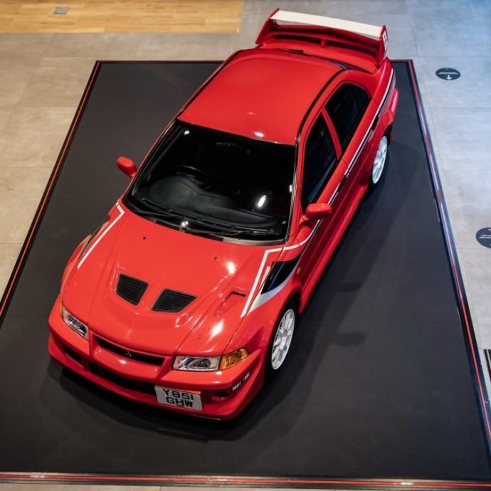 Mitsubishi automobilių kolekcija
