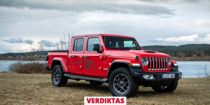 Jeep Gladiator truck review