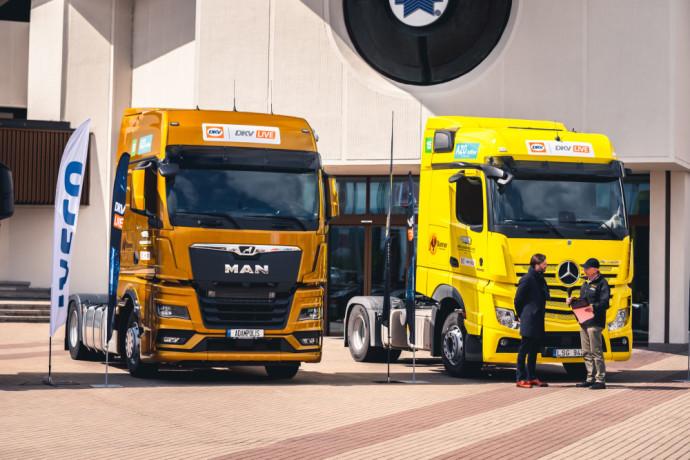 DKV LIVE Metų sunkvežimis 2021