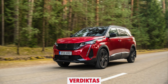 "Atnaujinto ""Peugeot 5008"" testas: Visureigis ar vienatūris? O gal – abiejų hibridas?"