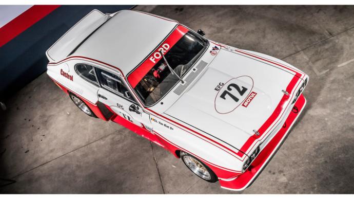 """Aukcione – automobilių sporto legenda tapęs """"Ford Capri RS 3100"""""""