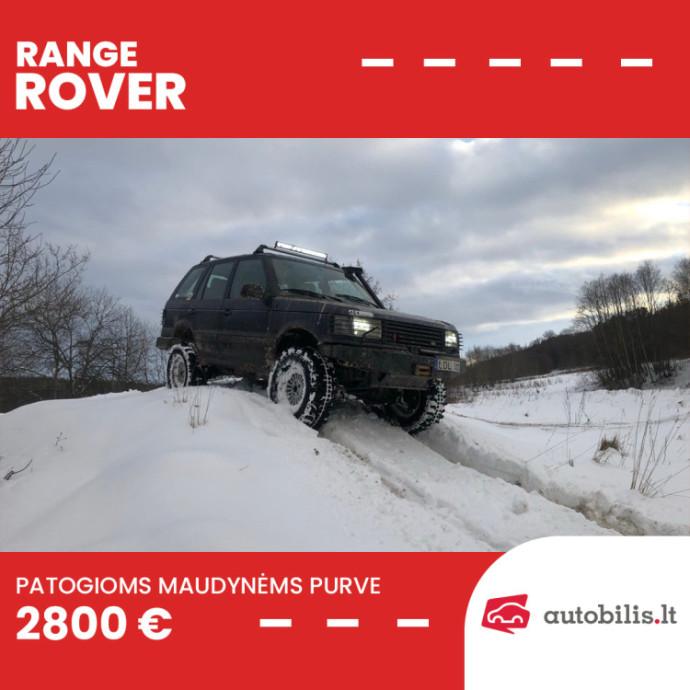 """Automanų skelbimai: Bekelės linksmybėms skirtas """"Range Rover"""""""