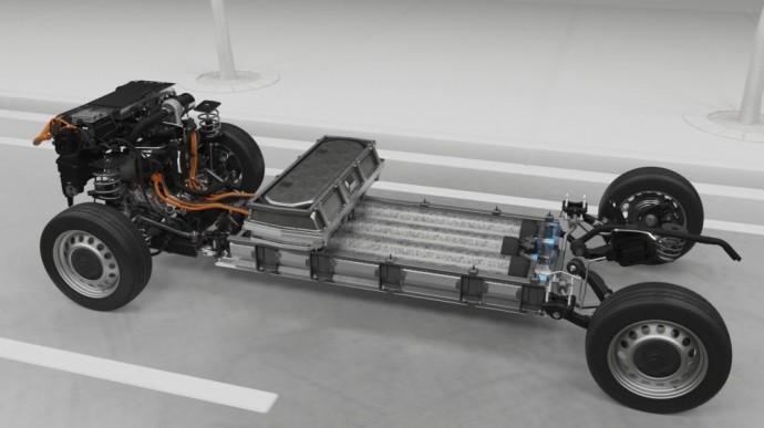 """""""Citroën ë-Jumpy Hydrogen"""" įmontuota baterija ir vandenilio kuro elementas suteiks galimybę nuvažiuoti didesnį atstumą ir neturės įtakos kitiems techniniams rodikliams."""