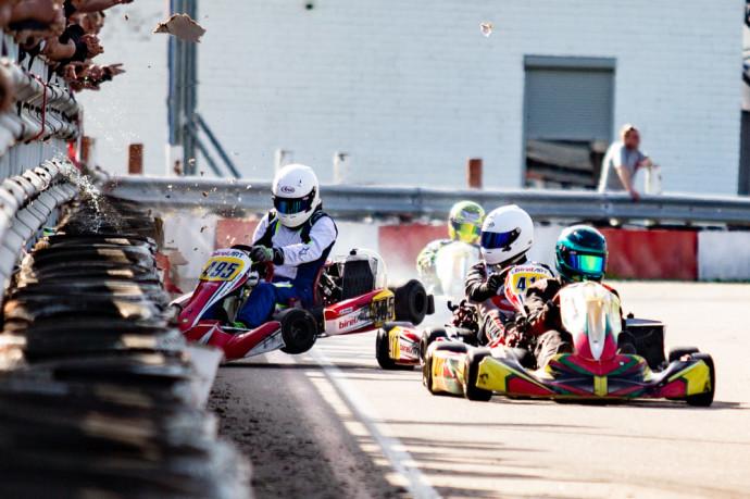 """""""Rotax Max Challenge powered by Spark Energy"""" antrajame etape pečius surėmė Lietuviai su Latviais."""