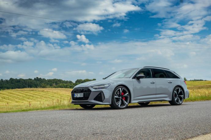 """""""Audi RS6 Avant"""" testas: Kas per daug, tas nesveika?"""