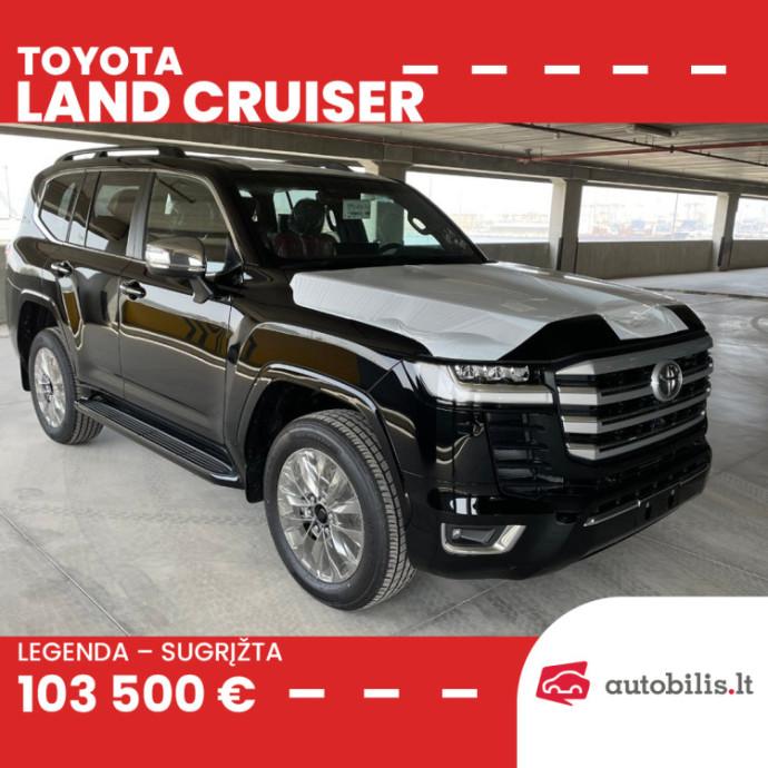 """Automanų skelbimai: Įsigykite naują """"Toyota Land Cruiser"""" greičiau negu jis pasirodys Lietuvoje"""