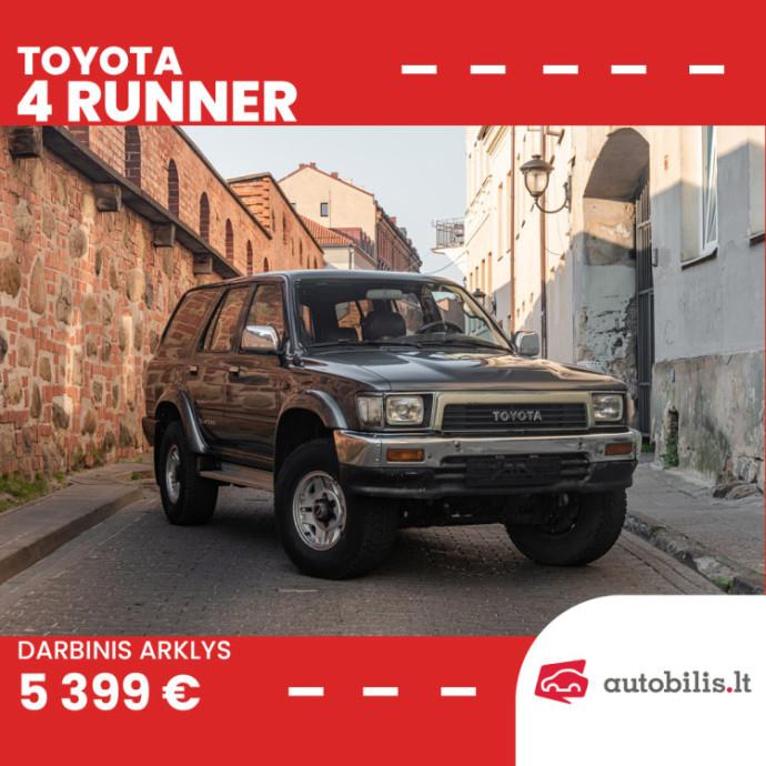 """Automanų skelbimai: Mažesnis, bet tikrai ne prastesnis """"Toyota Land Cruiser"""" brolis"""