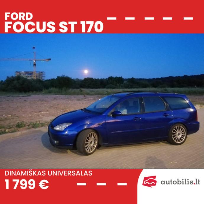 "Automanų skelbimai: Vienintelis ""Ford Focus ST170"" universalas Lietuvoje?"