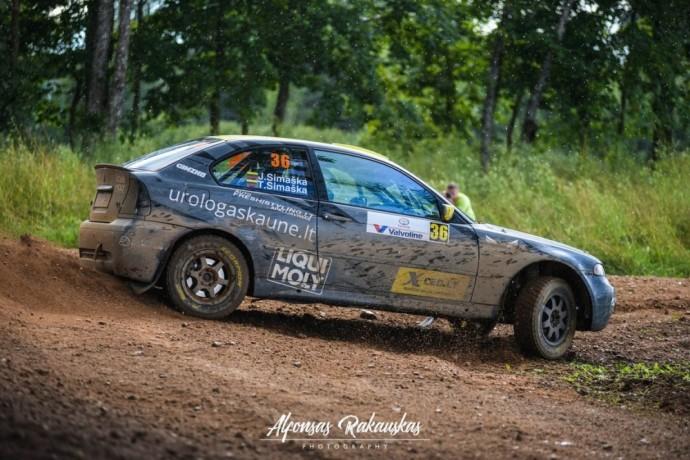 """Justas Simaška """"Samsonas Rally Rokiškis"""" finišą bandys pasiekti ketvirtuoju bandymu"""