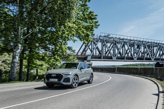 "Lietuvoje – ""Audi Q5 Sportback"" debiutas"