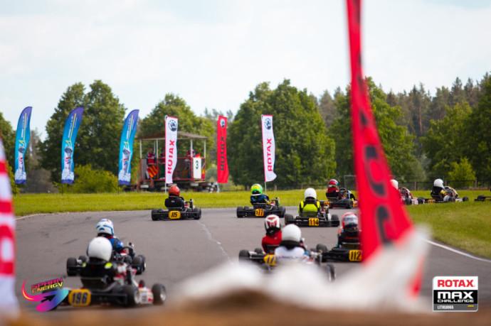 """Savaitgalį įvyksiančiame """"Rotax Max Lithuania Challenge powered by Spark Energy"""" – rekordinis dalyvių skaičius"""
