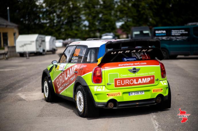 """""""Samsonas Rally Rokiškis"""" dalyviai savo automobilius pristatė techninei komisijai"""
