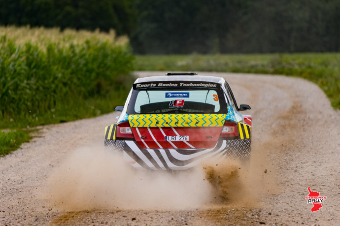 """Testiniame """"Samsonas Rally Rokiškis"""" greičio ruože tempą diktavo ukrainiečiai su WRC """"Mini"""""""