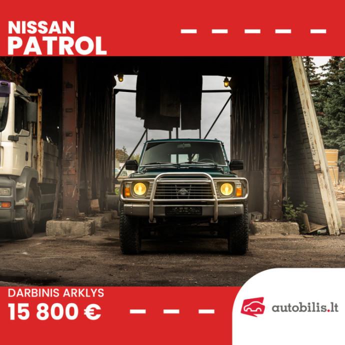 "Automanų skelbimai: Legendinis ""Nissan"" visureigis"