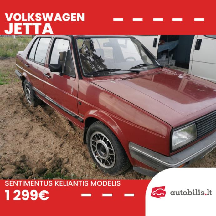 """Automanų skelbimai: Priimkite po savo sparnu gero stovio """"Volkswagen Jetta"""""""