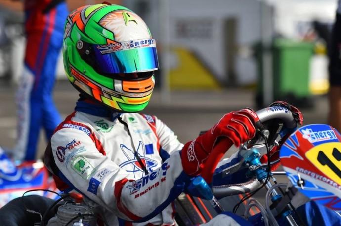 Kajus Šikšnelis – tarp greičiausių pasaulio kartingo lenktynininkų