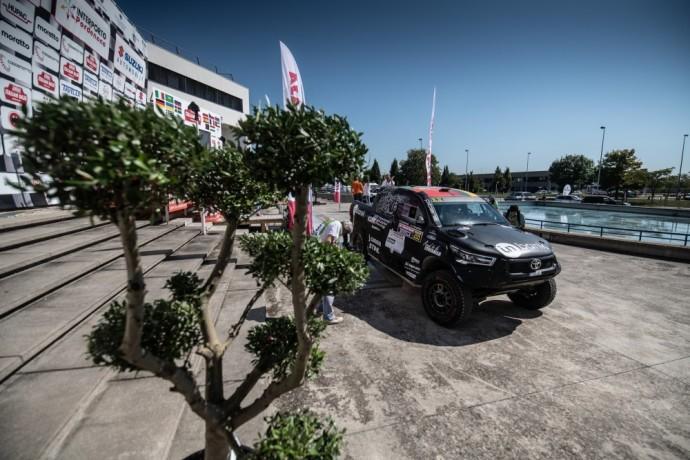 """Po permainingos pirmosios """"Italian Baja"""" varžybų dienos Benediktas Vanagas pakilo į trečiąją vietą"""