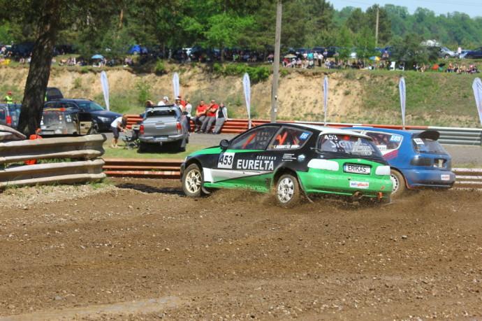 Finaliniame Lietuvos autokroso čempionato etape – trijų šalių atstovai