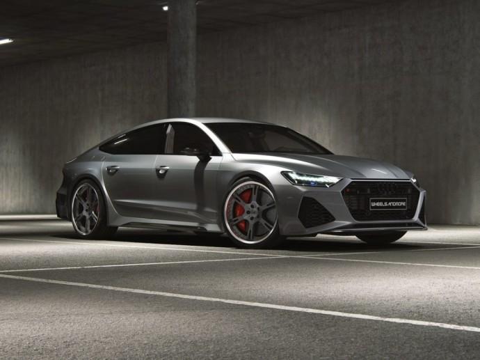 """Specializuotose dirbtuvėse """"Audi RS 7"""" tapo superautomobilių žudiku"""
